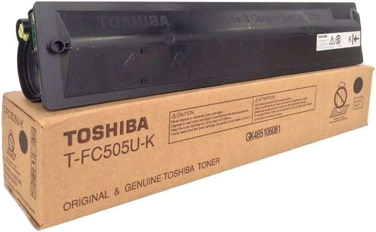 Toshiba T-FC505U-K e-Studio 2505 3005 3505 4505 5005 Toner Cartridge in Retail Packaging Black
