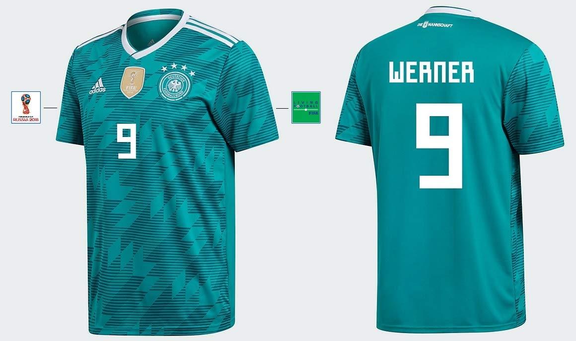 DFB Trikot Kinder WM 2018 Away - Werner 9