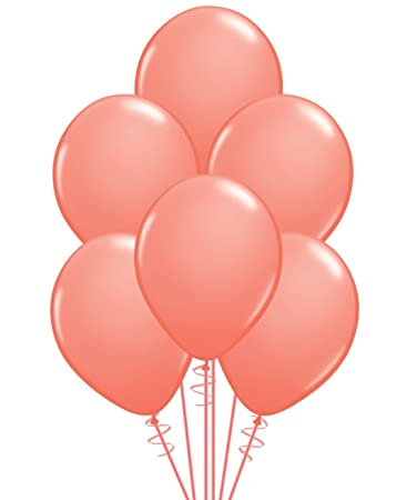 Qualatex Opaque Coral Biodegradable Latex Balloons 11 Inch 20 Units