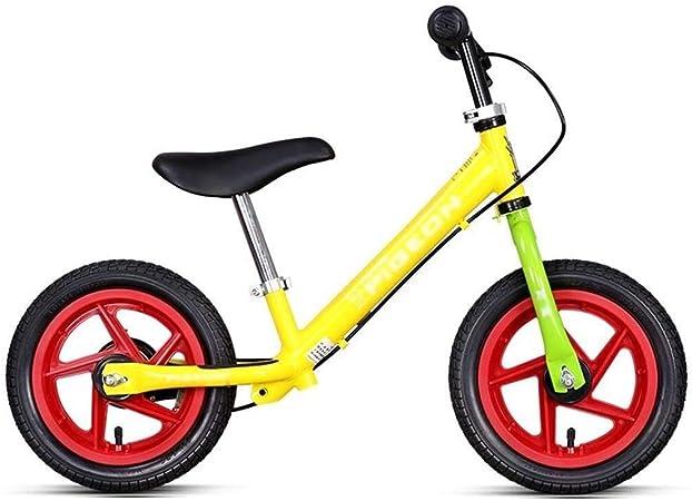 LPYMX Bicicletas sin Pedales para niños Bicicleta de Equilibrio Infantil Bicicleta Corriente Bicicleta Primera Bicicleta de Entrenamiento Bicicleta de Equilibrio Infantil: Amazon.es: Hogar