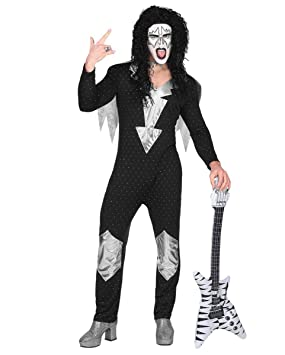 Horror-Shop Traje De Estrella De Rock De Heavy Metal S ...