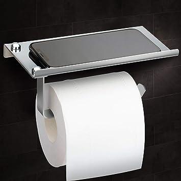 Toilettenpapierhalter Klopapierhalter Wandhalterung  Klorollenhalter  Für WC