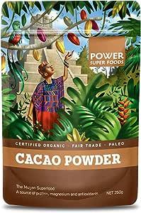 Power Super Foods Organic Cacao Powder 250 g