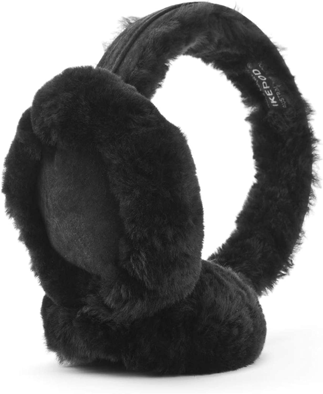 Classic Australian sheepskin Earmuff Ear Warmer - Unisex Warm Thermal Earwarmer