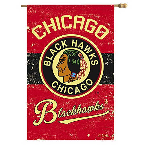 Team Sports America Chicago Blackhawks Outdoor Safe Double-S