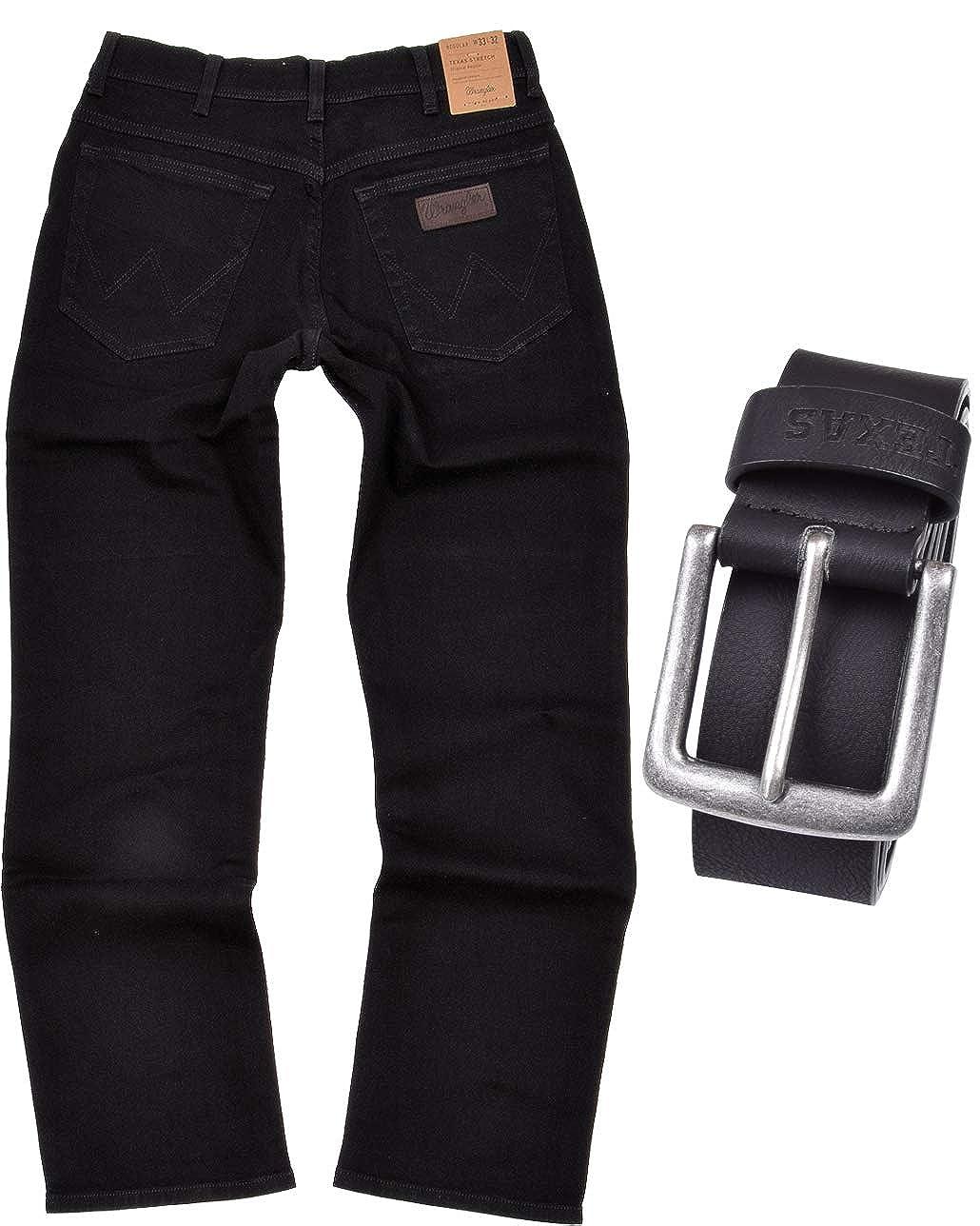 TALLA 42W / 32L. Wrangler Texas Original Straight Pantalones para Hombre