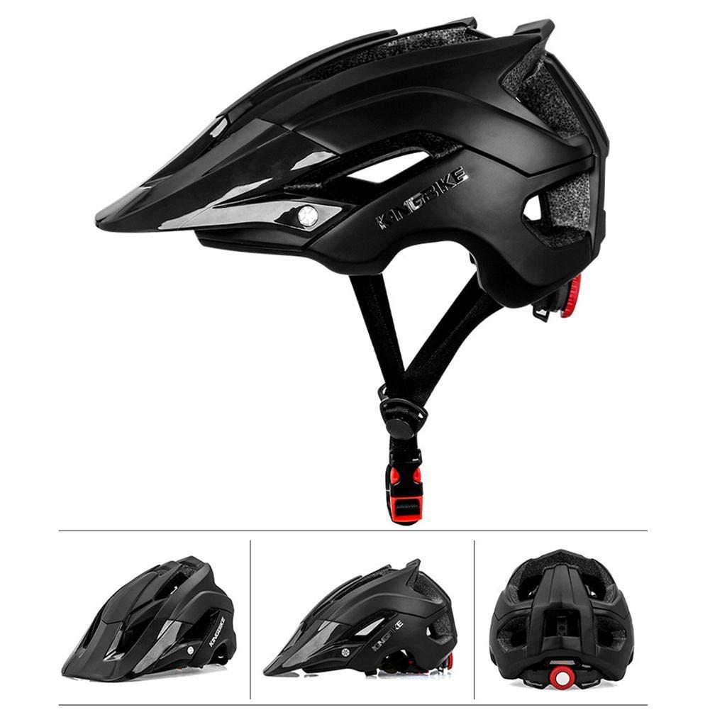 Motorradhelme Fahrradhelm Rennradhelm f/ür Outdoor Radfahren M/änner Frauen KINGBIKE Mountainbike Helm