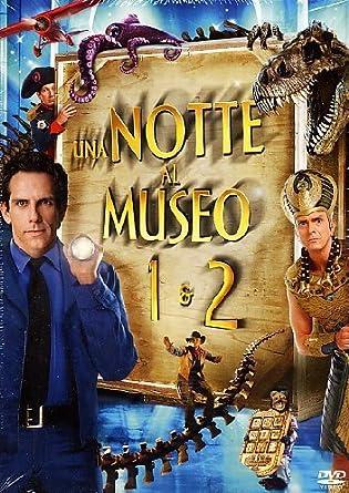 Notte Al Museo.Amazon Com Una Notte Al Museo Una Notte Al Museo 2 2 Dvd
