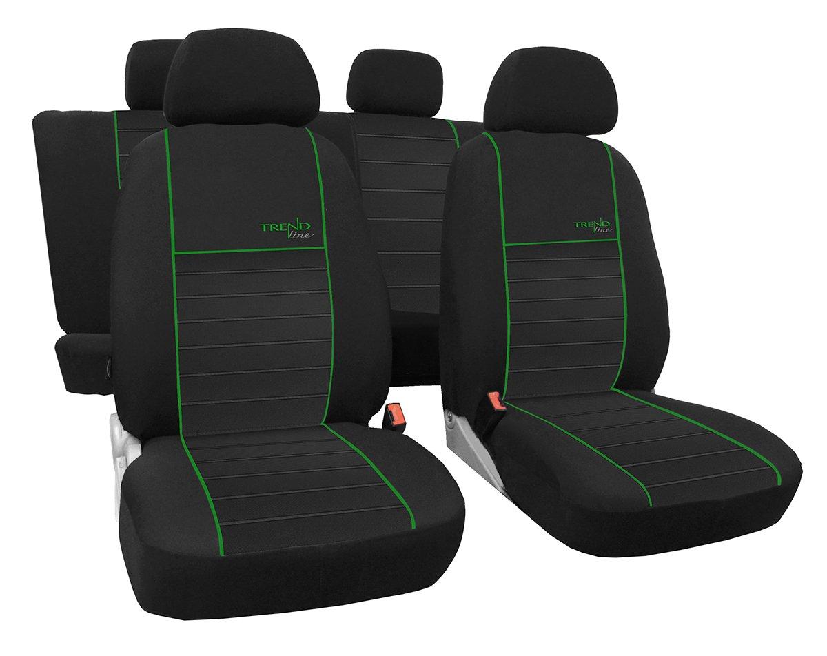 Beste Qualit/ät Sitzbez/üge im Design Trend Line erh/ältlich in 6 Farben . EJP Ma/ßgefertigter Autositzbezug F/ür Ford Tourneo Connect 5-Sitze 2009-2011