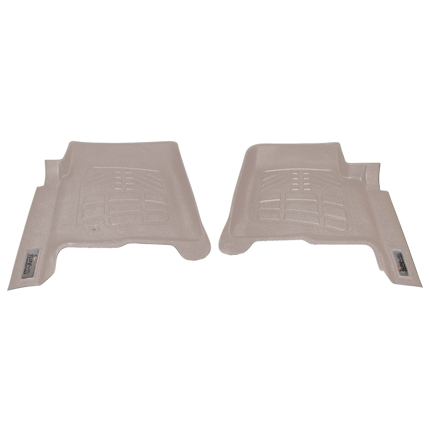 Westin Wade 72-130024 Tan Sure-Fit Front Right And Left Molded Floor Mat Set 1 Pair