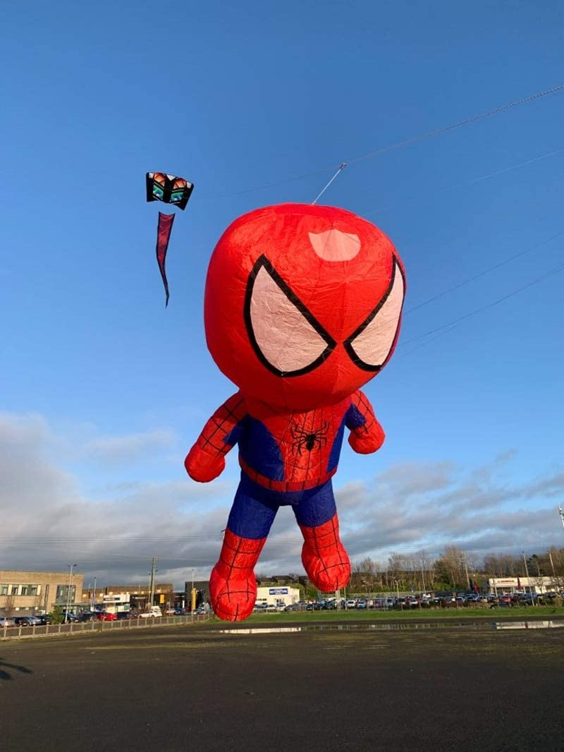 XiaoOu Kite for kids Avatar kite spiderman kite delta kite fly well popular with handle line