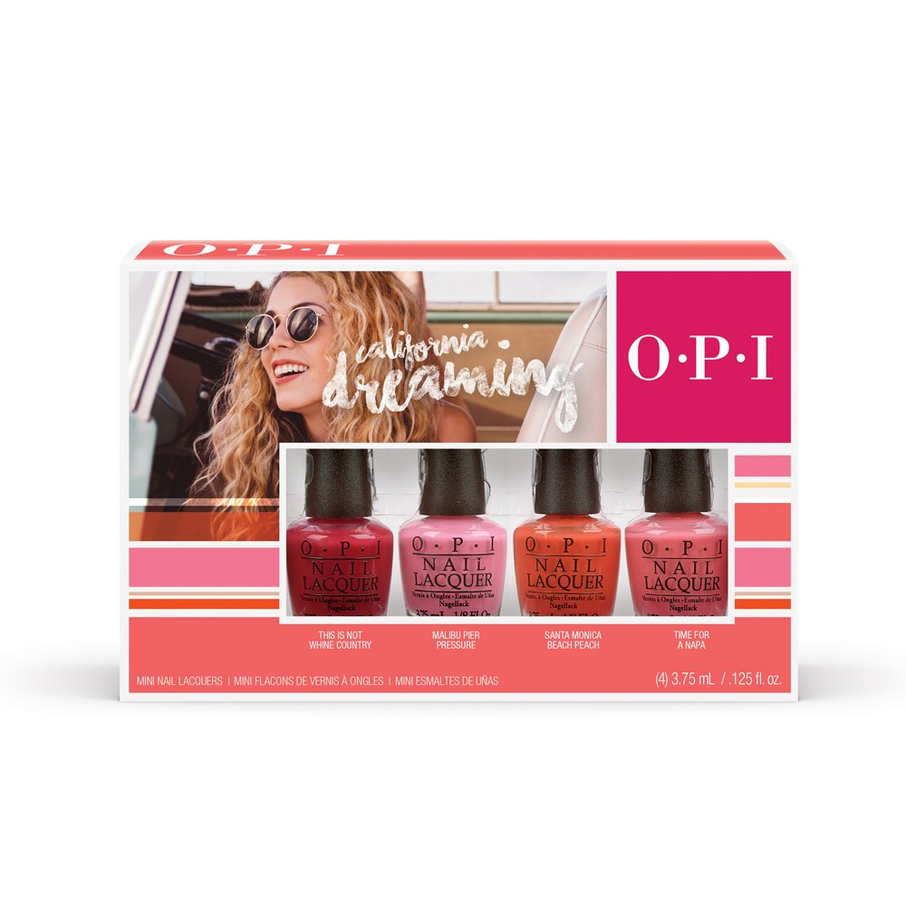 OPI California Dreaming Mini Kit Collection 4 x 3.75ml) DDC27