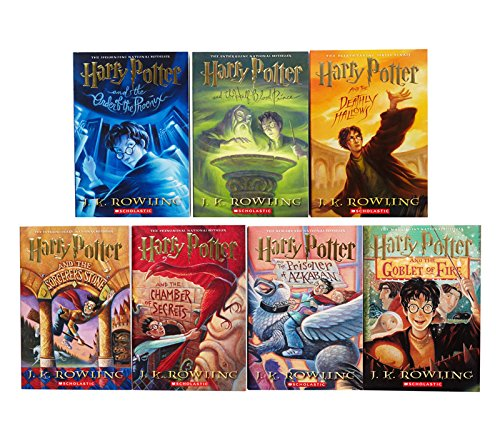 Image result for harry potter book series