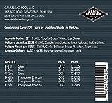 Black Diamond Light Phosphor Bronze Acoustic Guitar Strings