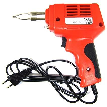 Cablematic - Soldador eléctrico de pistola de 100W
