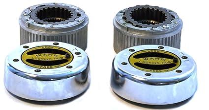WARN 38786 Heavy Duty Rear Full Floater Hub Lock Set