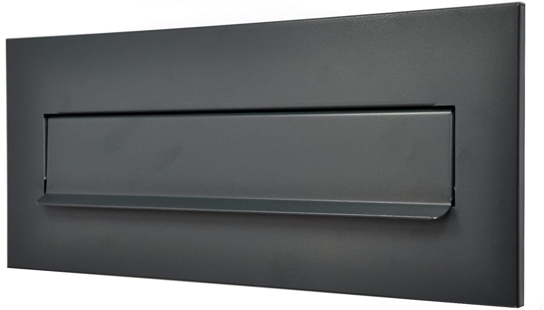 C4 RAL7016 MATT Anthrazitgrau 310x80 Einwurfklappe Briefeinwurf Briefklappe ANTHRAZITGRAU 310x80 oder 310x135