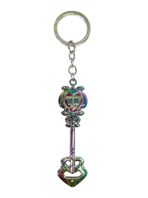 Cosplay Fairy Tail Keys Lucy Heart Key Chain Celestial Spirit Gate Keyring /´/¦/×/ù Virgo Zodiac Keys and Keyring,