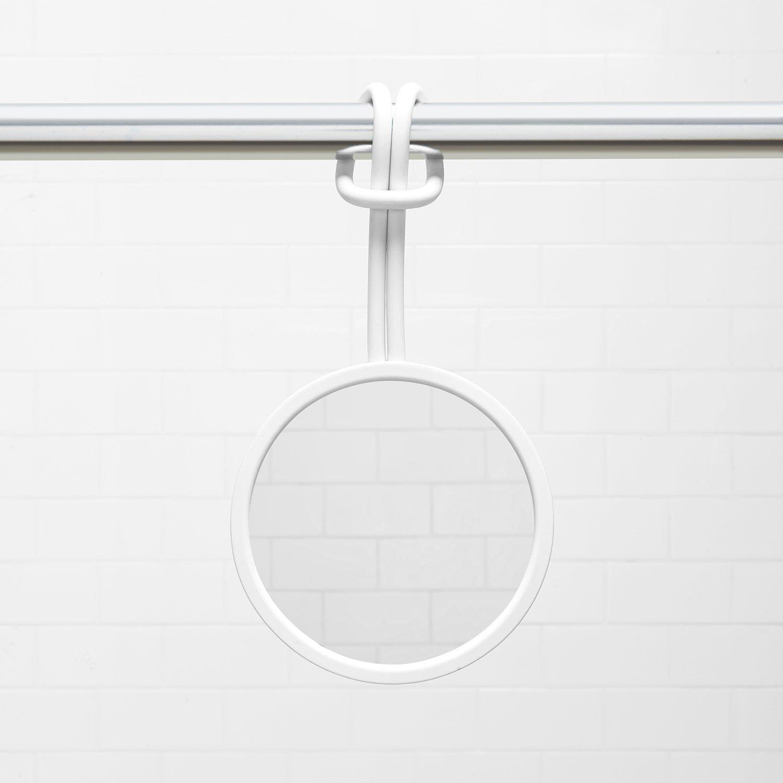 interdesign hooks design amazon bathroom or inspiring glamorous shower stugvik for ikea mirror white com suction and with cup shaving