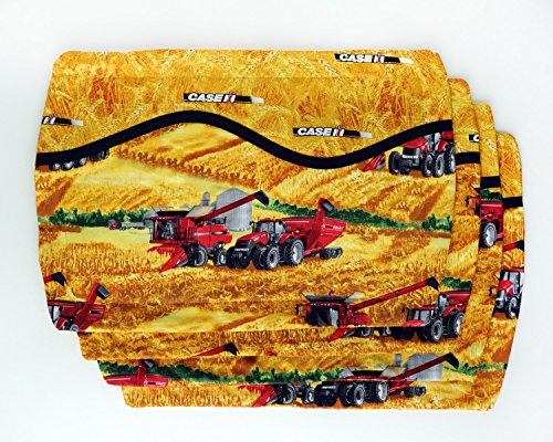 CaseIH Tractor and Combine Field Scene Place Mats, set of four from CaseIH