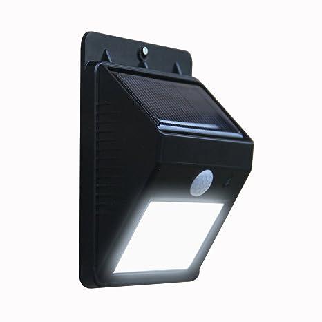 ShoppoStreet Outdoor Motion Activated Sensor Solar Power LED Light Lamp Stick up