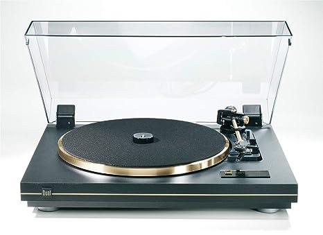 Dual 205108 CS 455-1 - Tocadiscos atutomático, color dorado ...