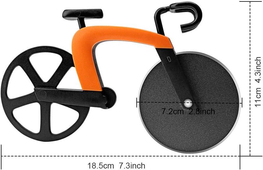 Compra KUONIIY Cortapizzas en Forma de Bicicleta de Montaña ...