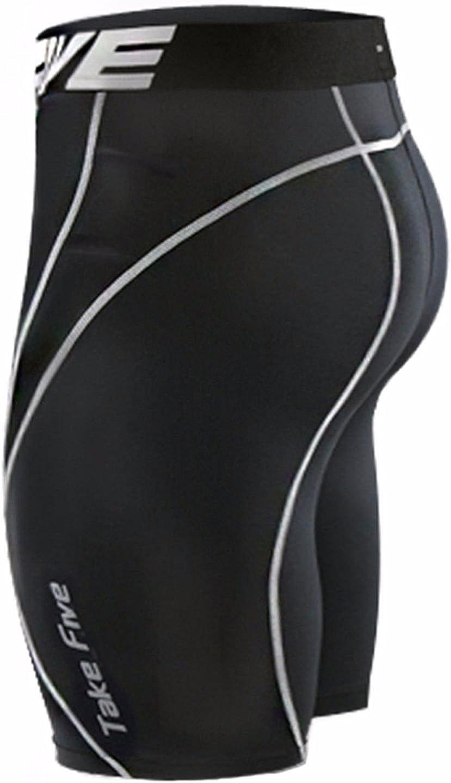 da uomo strato di base 022 Leggins a compressione aderenti pantaloni da corsa