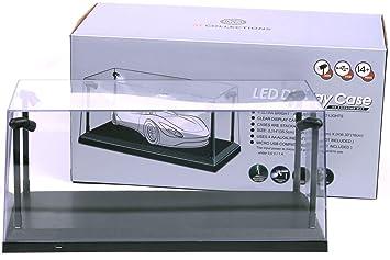 Vetrina auto modello con illuminazione a led per diecast modellini