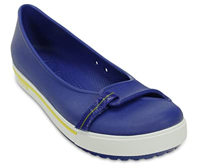 1198614c0d11ca crocs Crocband 2.5 Women Flat in Blue: Buy Online at Low Prices in India -  Amazon.in