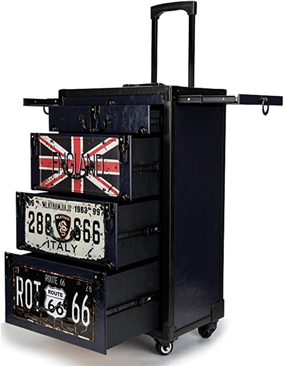 Alus Beauty Trolley Case With Drawers