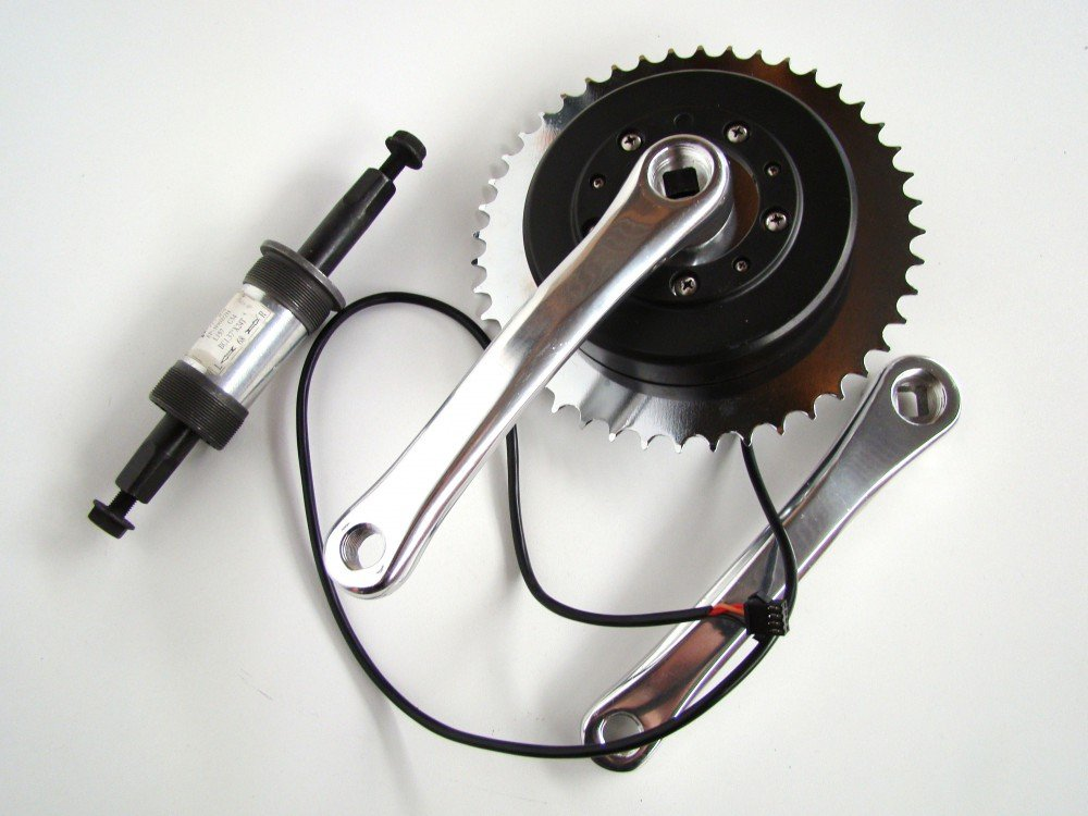 xgerman dinamométrica Sensor, intergriert en pedal Manivela GermanXia