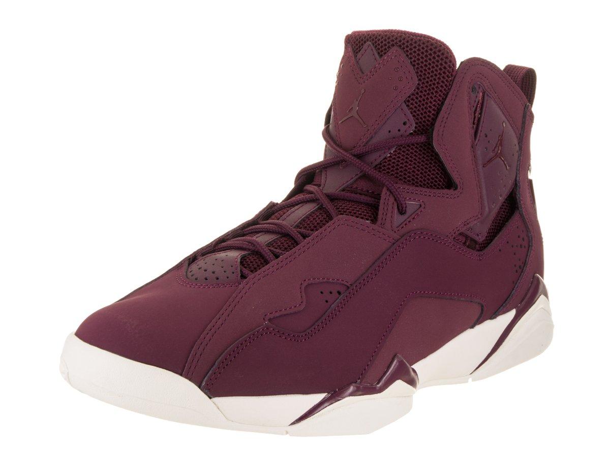 san francisco b3bd8 18dc1 Amazon.com  Jordan Men s True Flight Basketball Shoe,  Bordeaux Bordeaux-Sail 9.5  Sports   Outdoors