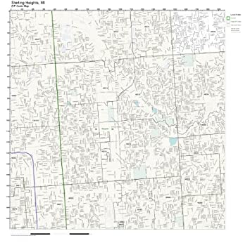 Sterling Heights Zip Code Map.Sterling Heights Mi Zip Code Map Zip Code Map