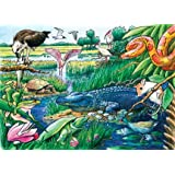 Animals of the Everglades (35 Piece Tray Puzzle)