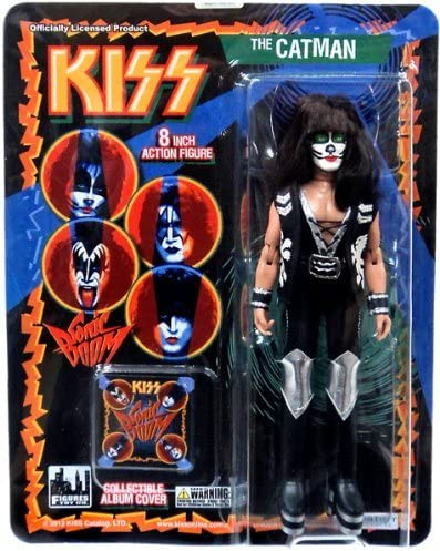 KISS 8 Inch Retro Style Action Figures Series Two The Catman