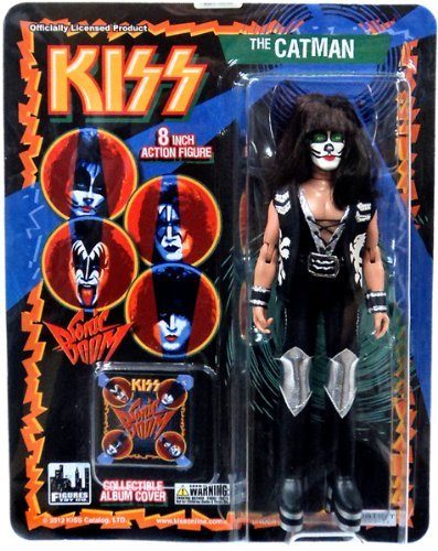 KISS Retro 8 Inch Poseable Action Figure Series 3 Catman by Figures Toy Company