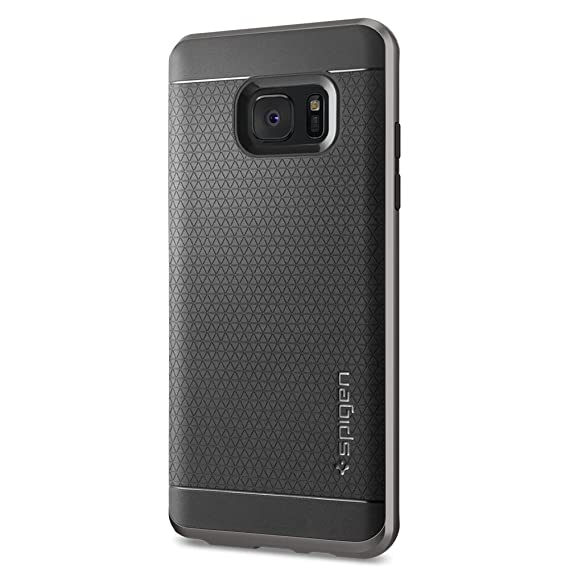 sports shoes 6c096 c4a9e Galaxy Note 7 Case, Spigen Neo Hybrid Case for Samsung Galaxy Note 7  Gunmetal 562CS20568