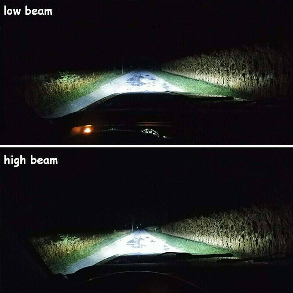 2PCS Car Led Headlight SUNWAN 7X6//5X7 105W Brightest DRL Projector Cree Led Fog Headlamp for Truck Off Road Cherokee XJ H6014 H6054 H5054 H6054LL 69822 6052 6053