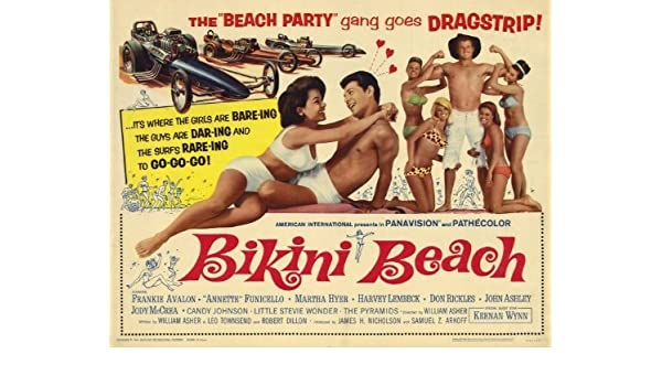 Pop Culture Graphics Póster de película de Playa Bikini ...