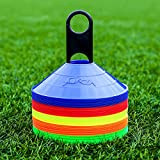 50 Marker Cones & Stand Available [Net World Sports]