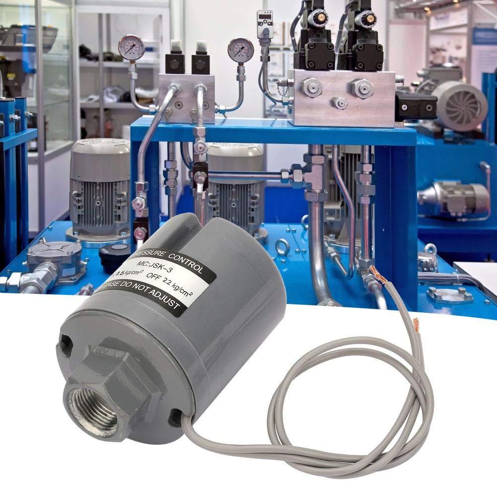 Pompe di sovralimentazione per famiglie 220V Pressostato Controller Pompa dellacqua Interruttore automatico di controllo della pressione per pompa automatica acqua calda e fredda 1.5-2.2 kgf//cm2