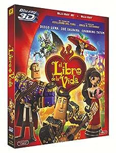 El Libro De La Vida (3d+ Blu-Ray) [Blu-ray]: Amazon.es: Animación, Jorge R