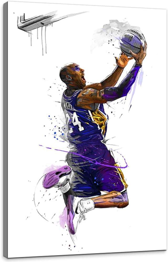 Kobe Bryant 8/&24 Flying Dunk HD Photo Art Print Wall Decor Poster Multi Sizes