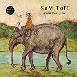 Sam Toft Poster Calendar - Watching The World Go By, Official Calendar 2018 (12 x 12 inches)