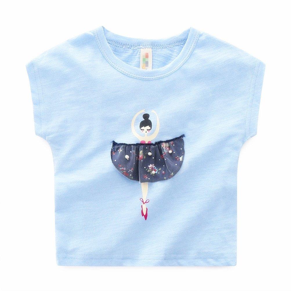 Mrsrui Baby Toddler Girl' Long Sleeve T-Shirt Tops Tee Cotton