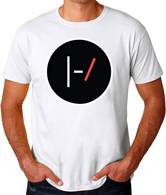 Wicked Design Twenty One Pilots Logo Camiseta para Hombres: Amazon.es: Ropa y accesorios
