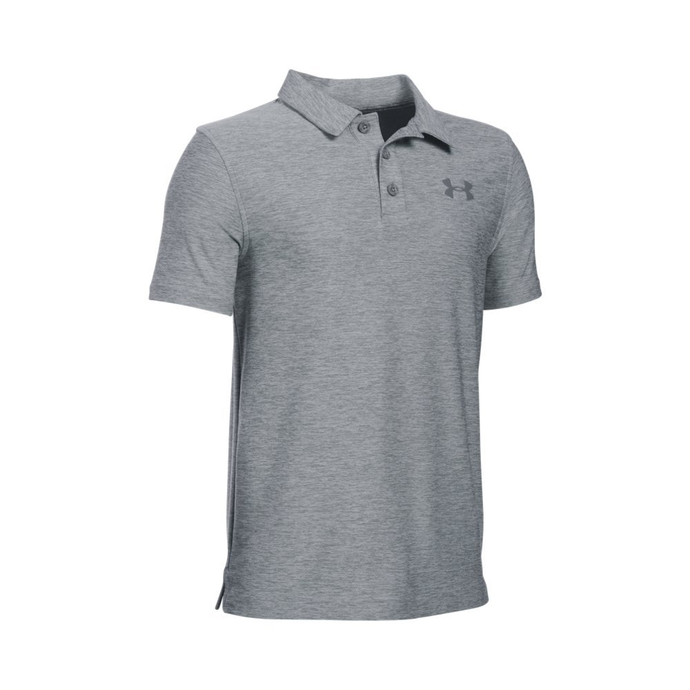 Under Armour Boys' Playoff, True Gray Heather /Graphite, Youth X-Small