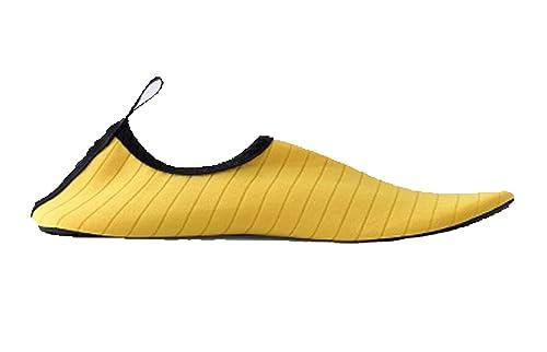fc6f0ccfd Zapatos de Playa de la Natación Zapatos Femeninos de la Yoga de la Playa Zapatos  Casuales de la Zambullida de los Hombres  Amazon.es  Zapatos y complementos