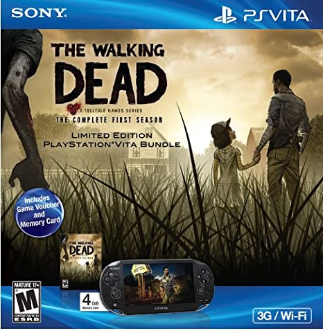 Playstation Vita The Walking Dead Bundle Video Games